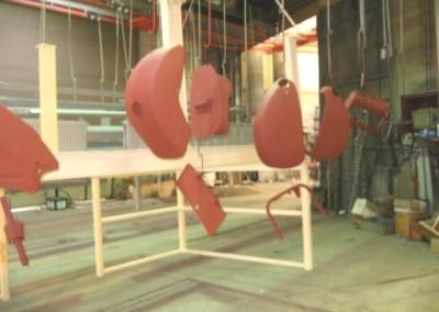 Onderdelen Vespa poedercoat