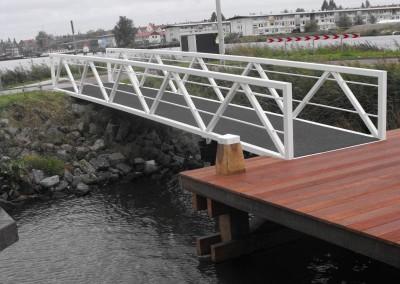 Fietsbrug constructie Vd Bersselaar Udenhout