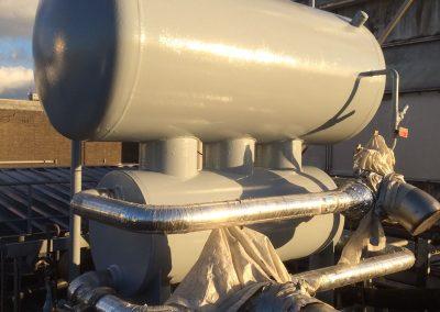 Onderhoud aan tank primerlaag