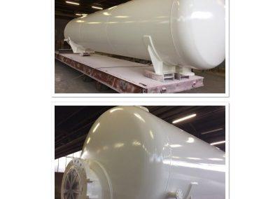 Oppervlaktebehandeling tanks binnen en buitenkant