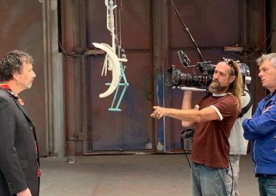 Aanwijzigingen van de cameraman