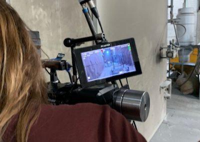 Mobiel stralen en poedercoaten gefilmd 'zo goed als nieuw'