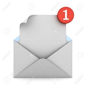 mailbericht ivm telefonisch niet bereikbaar