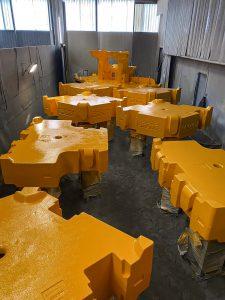 grote blokken geel